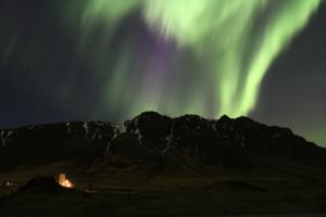Northern Lights Kjalarnes Iceland