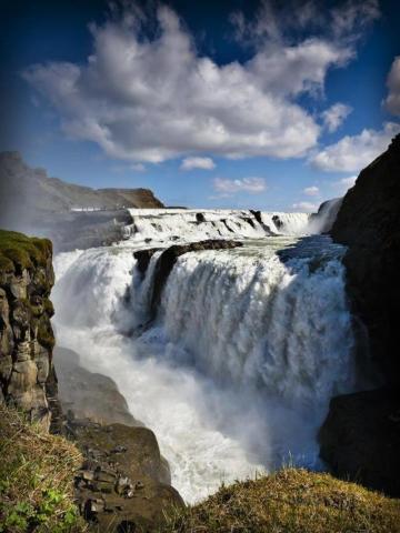Gullfoss Waterfall Iceland, ThuleTravel. Ljósmynd Björn Þórisson