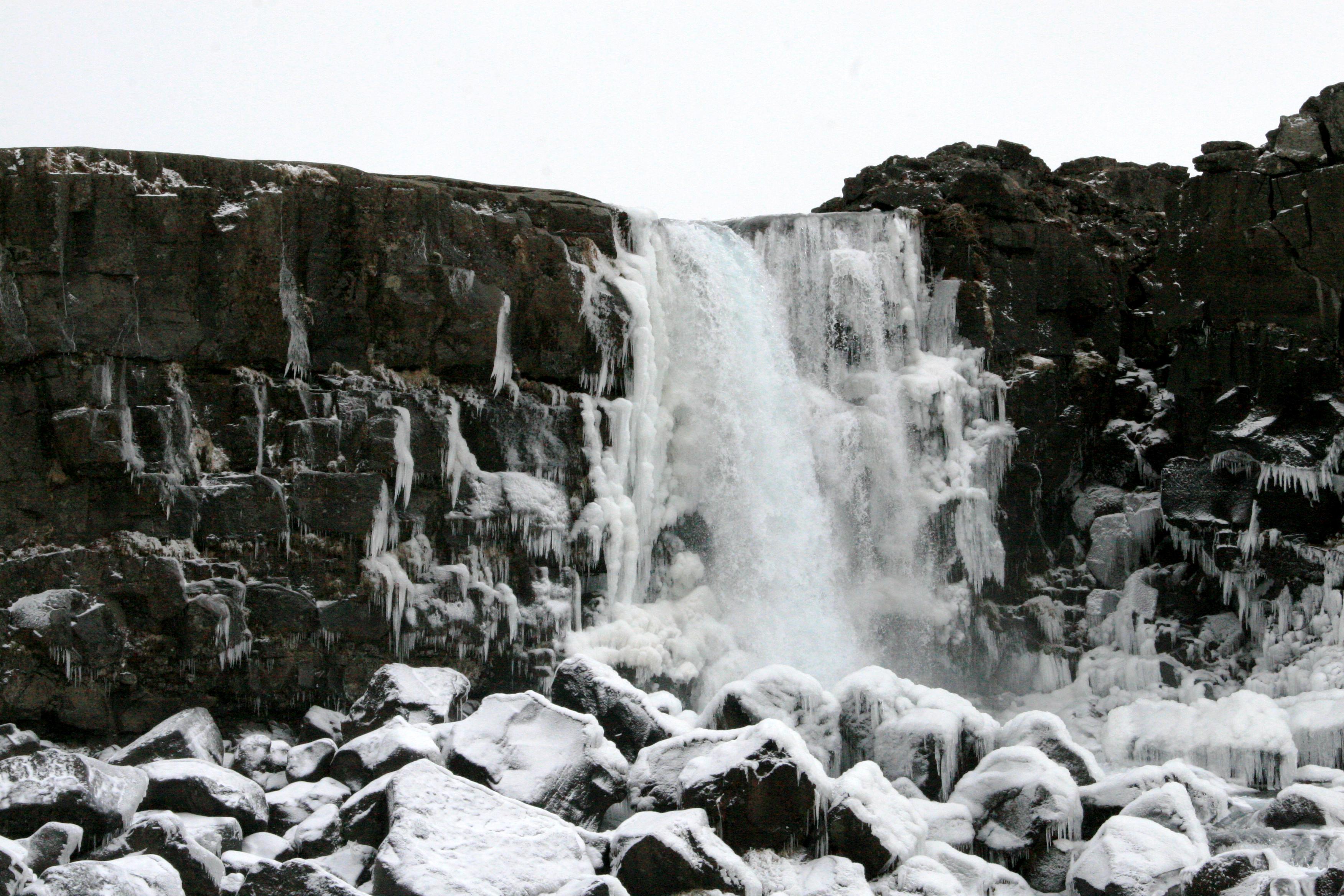 Öxarárfoss Þingvellir Iceland, ThuleTravel