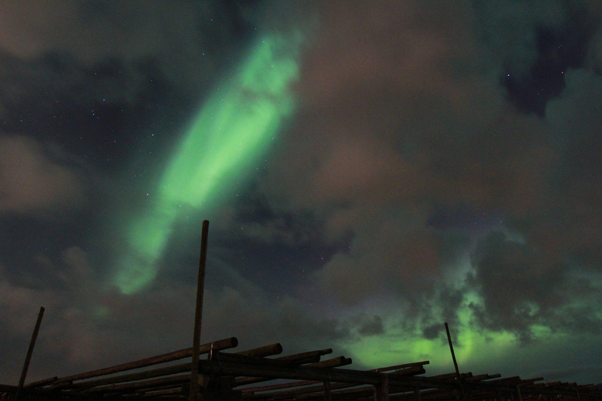Northtern Lights at Hafnarfjörður Iceland, ThuleTravel