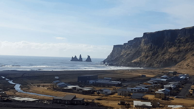 Vík í Mýrdal, Reynisdrangar in the South Coast of Iceland, ThuleTravel