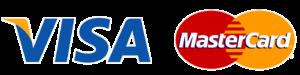 Visa / MasterCard logos