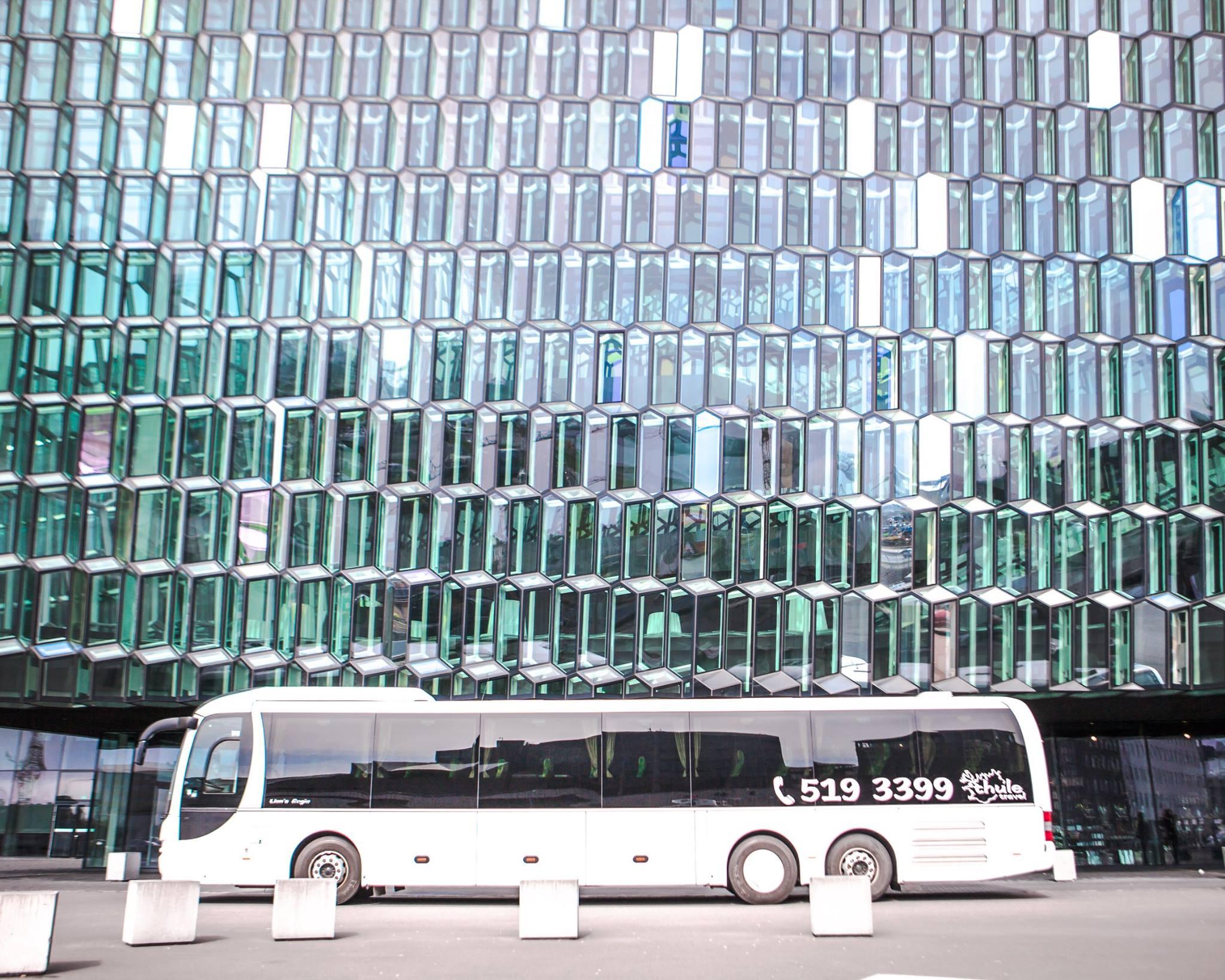 City Bus at Harpan