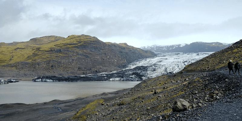 Sólheima Glacier South Coast of Iceland, ThuleTravel