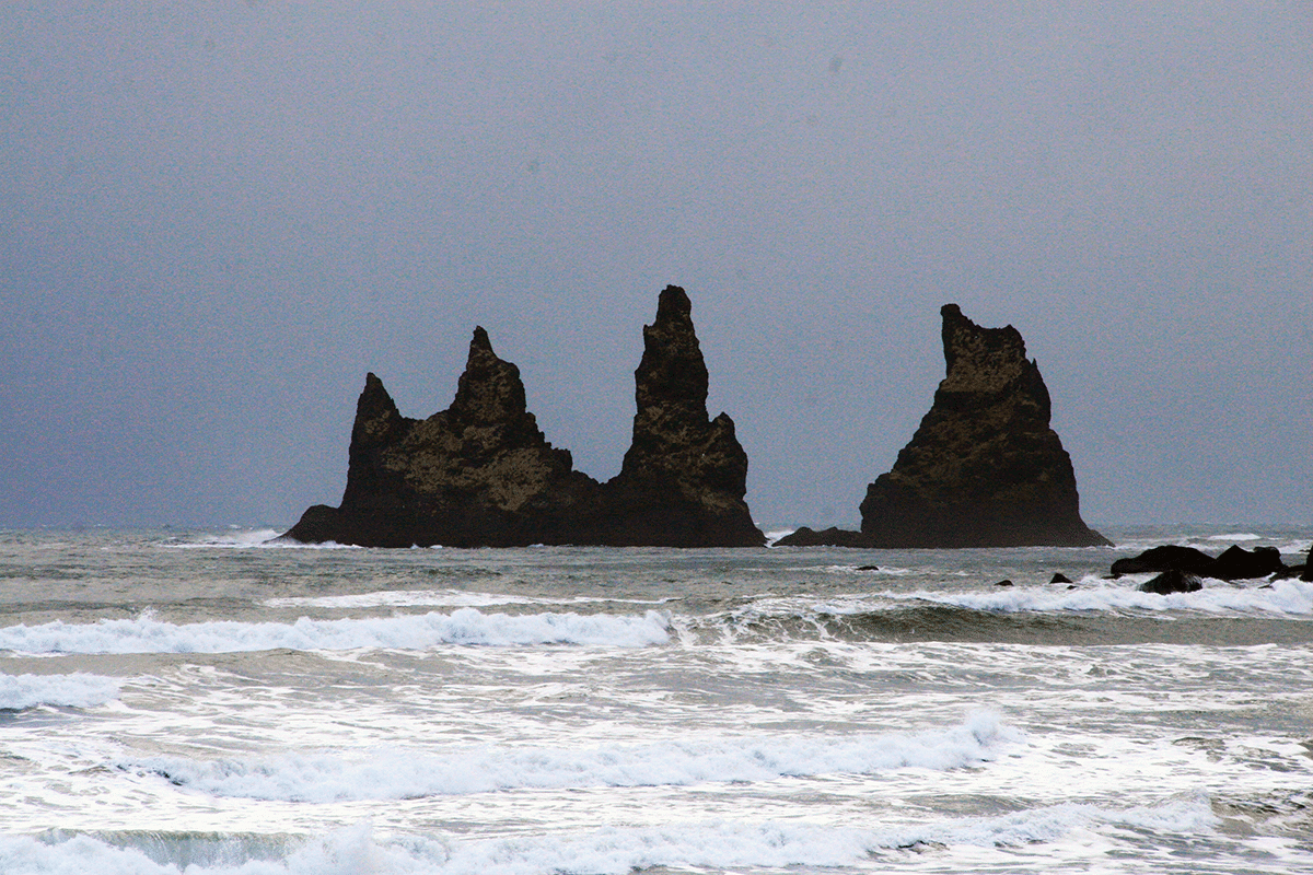Vík í Mýrdal, Reynisdrangar in the South Coast of Iceland, ThuleTravel