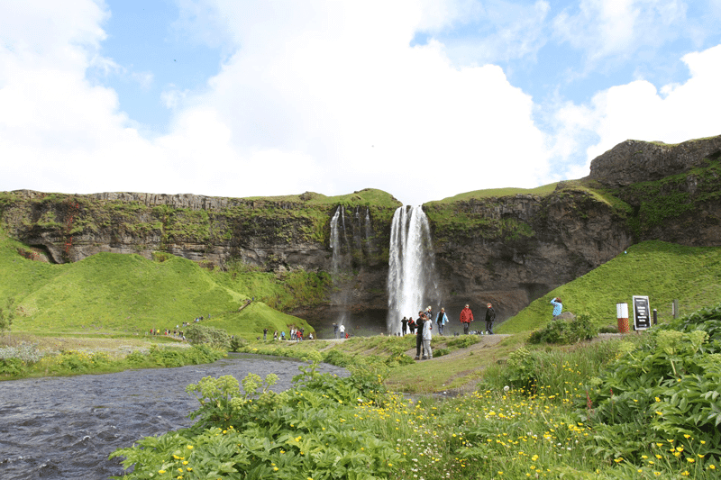 Seljalandsfoss in the South Coast of Iceland. ThuleTravel