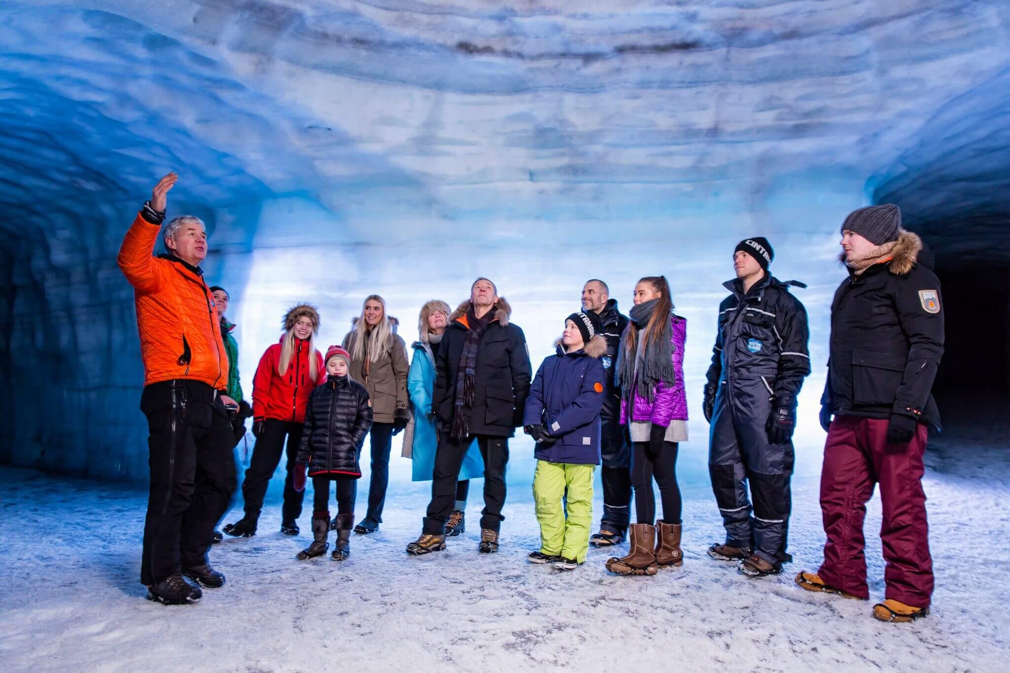 ice cave glacier iceland