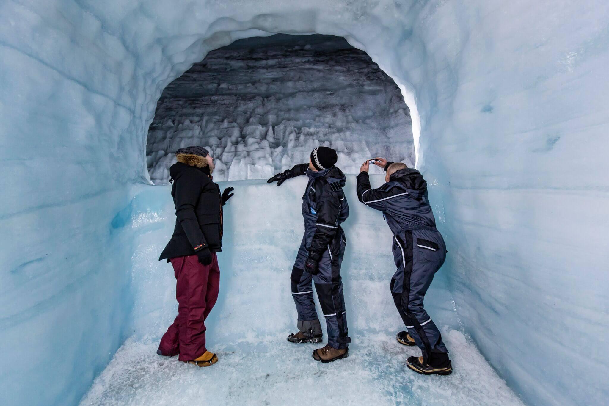 ice caving tours