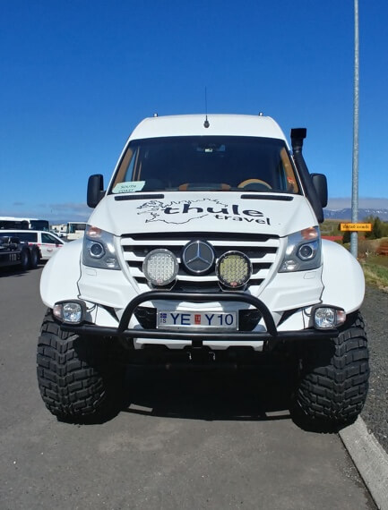 SUPER-JEEP tour, with SUPER-Jeeps